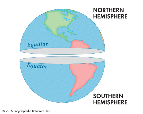 Where Is The Equator On The Globe